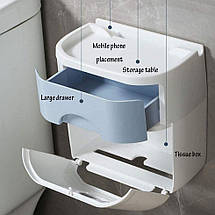 Органайзер для туалетного паперу, тримач для туалетного паперу, фото 2