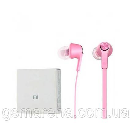 Наушники с микрофоном Xiaomi Piston 5 Розовый, фото 2