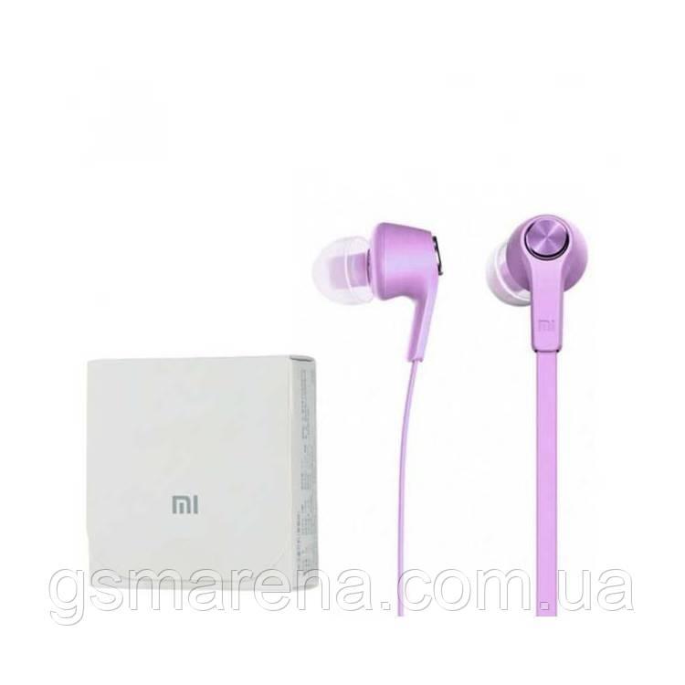 Наушники с микрофоном Xiaomi Piston 5 Фиолетовый