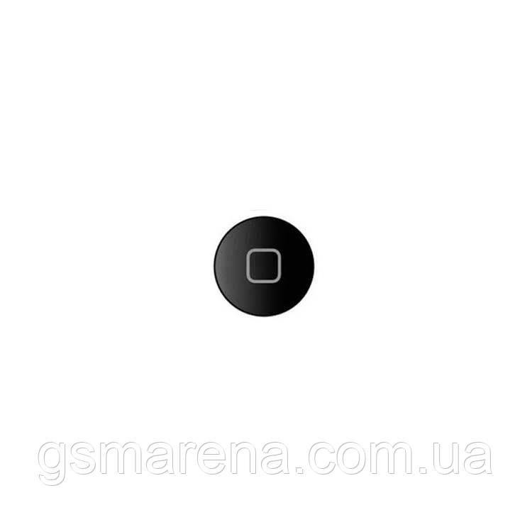 Кнопка центральная Apple iPad Air home button Черный Оригинал