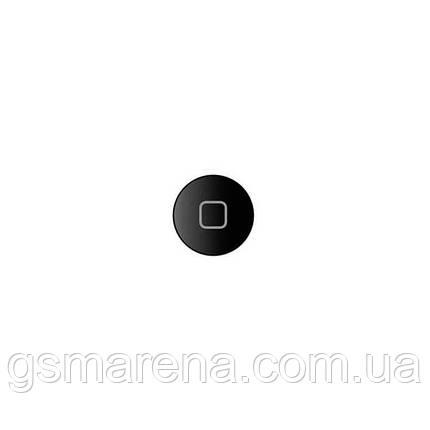 Кнопка центральная Apple iPad Air home button Черный Оригинал, фото 2