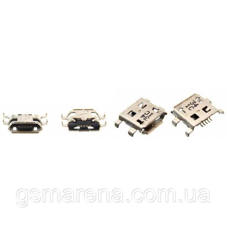 Коннектор зарядки BlackBerry 8900, 9500, 9530, 9630, Z10, Q10 (5 шт)