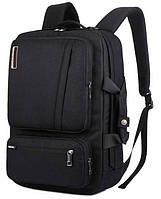 Многофункциональный рюкзак-сумка для ноутбука Socko 17'' Black