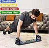 Доска для отжиманий Push Up Rack Board JT 006 / Упоры от пола / Тренажер для упражнений, фото 8