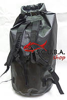 Сумка-рюкзак водонепроницаемая для подводного снаряжения BS Diver 60 л (герморюкзак), фото 1