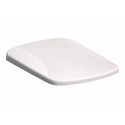 NOVA PRO сиденье для унитаза, антибактериальное дюропласт., прямоугольное, металлические крепления, с