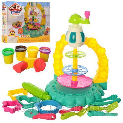 Набор для лепки Кондитер, фабрика сладостей аналог Play Doh