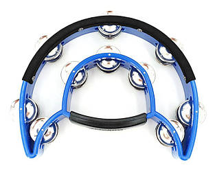 Тамбурин MAXTONE Power-2 Tambourine w/Protecting Trim (Blue)