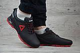 Кроссовки мужские кожаные Reebok на шнуровке, фото 4