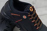 Кроссовки из натуральной кожи Merrell Tracking чёрные, фото 3