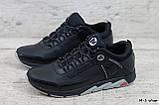 Мужские кожаные кроссовки Merrell чёрные, фото 2
