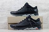Мужские кожаные кроссовки Merrell чёрные, фото 5