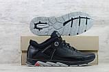 Мужские кожаные кроссовки Merrell чёрные, фото 6