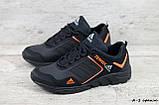 Мужские кожаные кроссовки Adidas Terrex Orange, фото 2