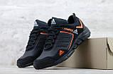 Мужские кожаные кроссовки Adidas Terrex Orange, фото 4