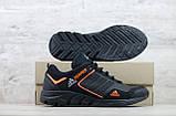 Мужские кожаные кроссовки Adidas Terrex Orange, фото 5