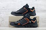 Мужские кожаные кроссовки Adidas Terrex Orange, фото 6