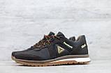 Мужские кожаные кроссовки Reebok Classic Brown на шнуровке, фото 4