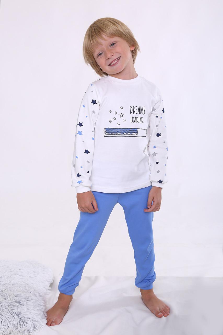 Пижама  для мальчиков 110-134 рост,  интерлок