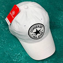 Кепка Бейсболка Мужская Женская Converse Белая, фото 2