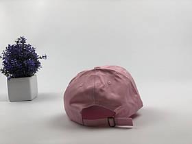 Кепка Бейсболка Мужская Женская City-A с надписью LIT Розовая, фото 2