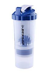 Шейкер спортивный Dunlop Fitness shaker bottle