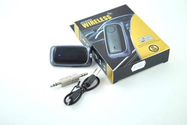 Bluetooth-адаптер блютуз-ресивер BT520 (AUX) Black, фото 2