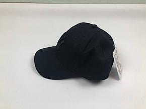 Кепка Бейсболка Мужская Женская MLB New York Yankees NY Черная с Черным лого, фото 2