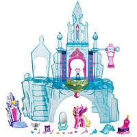 Игровой набор Кристальный замок Моя Маленькая Пони с фигурками и аксессуарами, световые эффекты - My Little