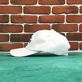 Кепка Бейсболка Мужская Женская City-A с надписью Life is Fantastic Белая, фото 2