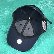 Кепка Бейсболка Мужская Женская MLB New York Yankees NY Темно-Синяя с Белым лого, фото 3