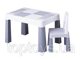 Набір меблів Tega Baby Multifun стіл і стілець сірий (MF-001-106)