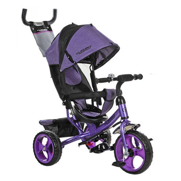 Велосипед трехколесный Bambi M 3113-8 Сиреневый
