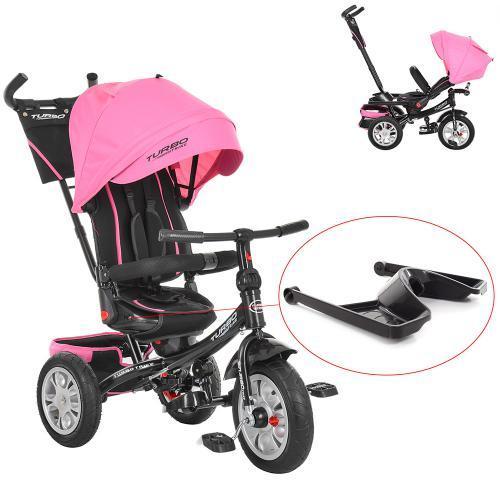 Велосипед трехколесный Bambi M 3646A-15 Розовый