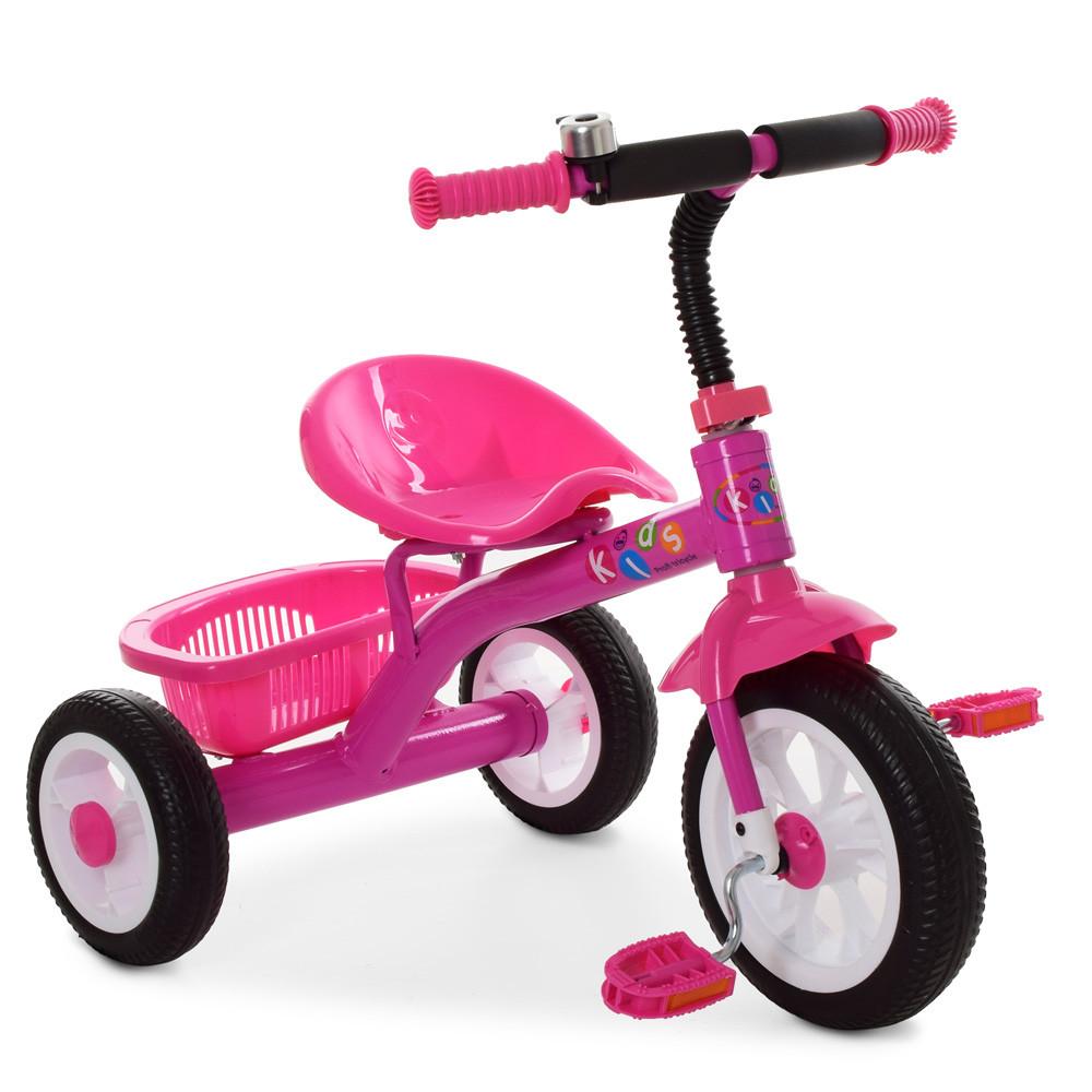 Трехколесный велосипед Bambi M 3252-B Розовый