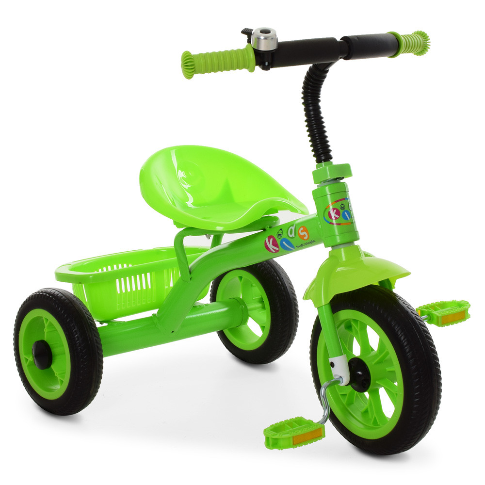Трехколесный велосипед Bambi M 3252-B Салатовый