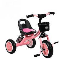Трехколесный велосипед Bambi M 3197-M-1 Розовый