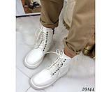 Ботинки демисезон на ровной подошве, фото 3