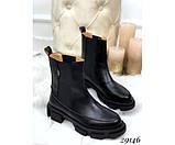 Ботинки демисезон челси с резинками по бокам, фото 3