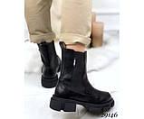 Ботинки демисезон челси с резинками по бокам, фото 4