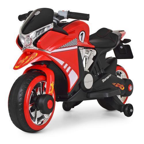 Мотоцикл Bambi M 3682L-3 Красный