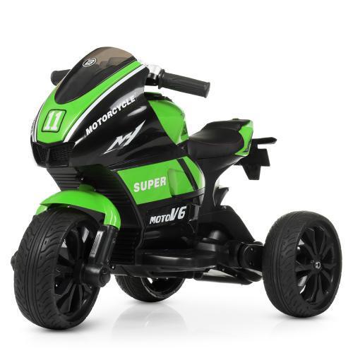 Мотоцикл Bambi M 4135L-5 Зеленый