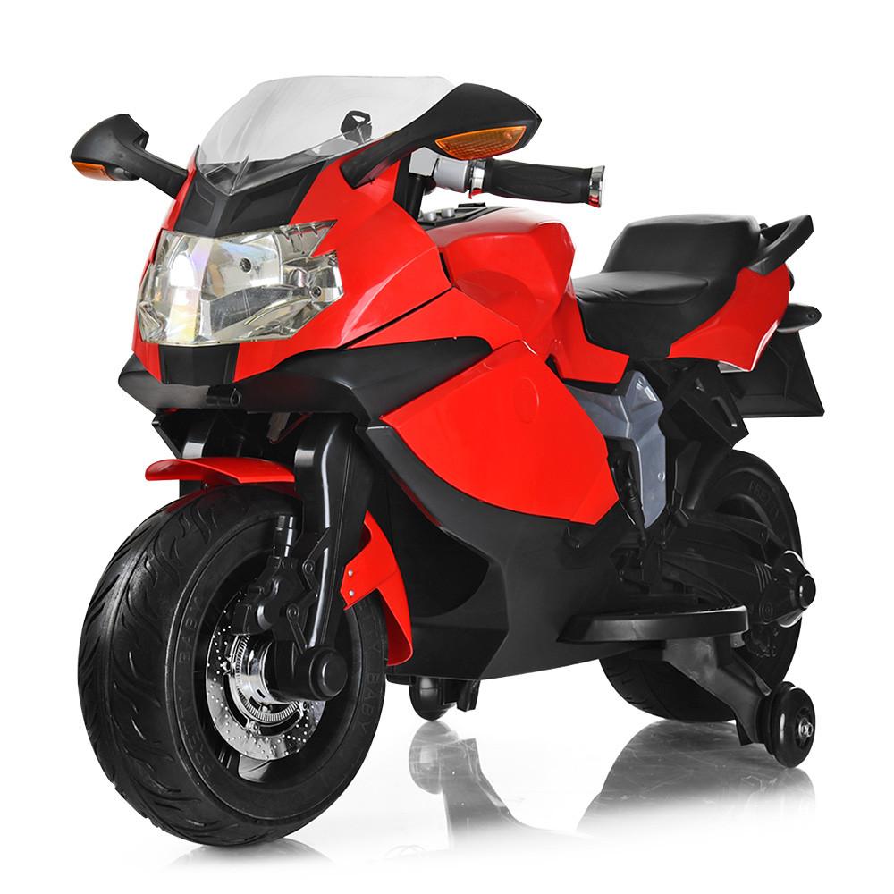 Мотоцикл Bambi M 3636EL-3 Красный