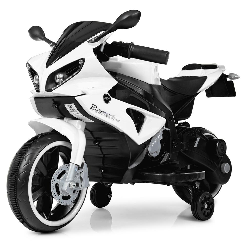 Мотоцикл Bambi M 4183-1 Белый