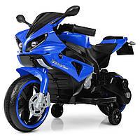 Мотоцикл Bambi M 4183-4 Синий