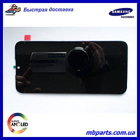 Дисплей с сенсором Samsung A015 Galaxy А01 Black, GH81-18209A, оригинал без рамки!