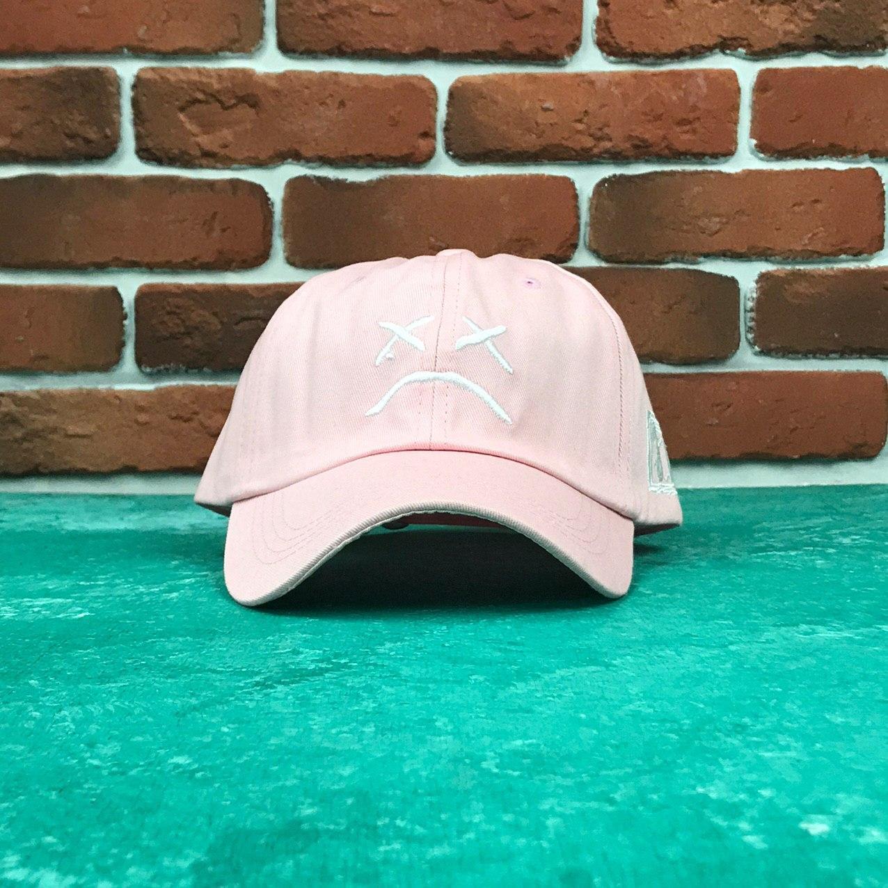 Кепка Бейсболка Мужская Женская City-A Lil Peep Розовая