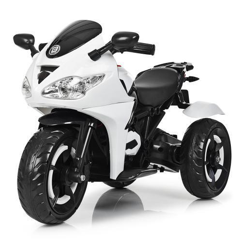 Мотоцикл Bambi M 3683L-1 Белый