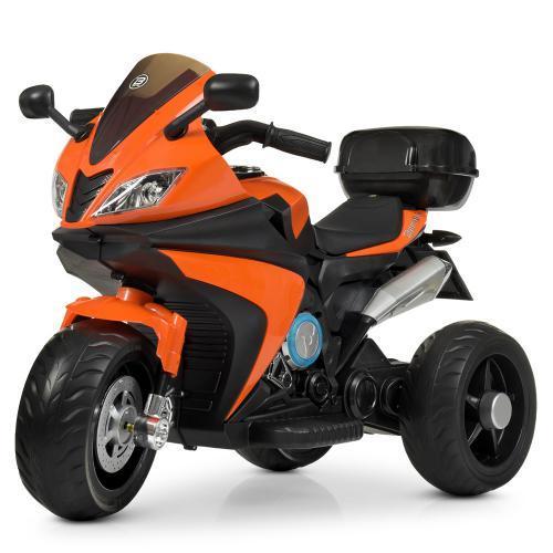 Мотоцикл Bambi M 4195EL-7 Оранжевый