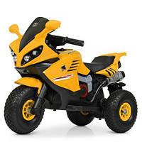 Мотоцикл Bambi M 4216AL-6 Желтый